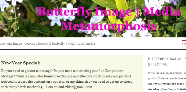 A well run, business oriented blog, will change your company's image